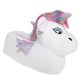 Slumberzzz Kids Unicorn Slippers