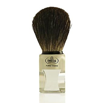 Omega 63164 Pure Badger Hair Shaving Brush