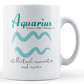 Aquarius Star znak znaczenie - Wydrukowano kubek