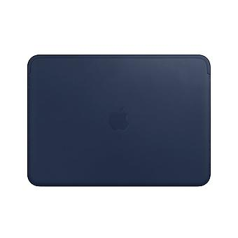 Apple Leather Sleeve for 12?inch MacBook - Midnight Blue