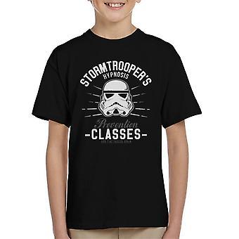 Original Stormtrooper Hypnose Prävention Klassen Kinder T-Shirt
