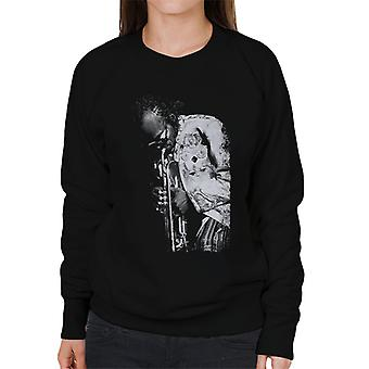 Miles Davis Playing In London 1986 Women's Sweatshirt