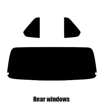 Pre cut window tint - Jaguar XJS Convertible - 1990 to 1996 - Rear windows