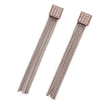 Oliver Weber Earring Trip staal CZ Rosegold