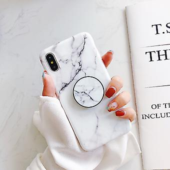Marble case with phone holder - iPhone XS Max