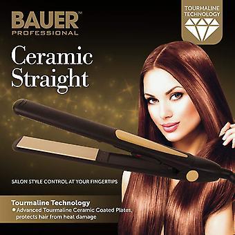Bauer Professional 220-240V Toermalijn keramische Hair Straightener