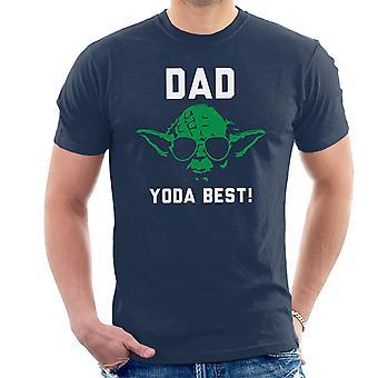 Papa Yoda beste Star Wars T-Shirt voor mannen