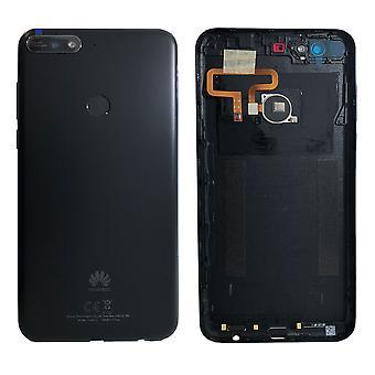 Huawei batteri forsiden dekke batteri batteridekselet svart for Y7 2018 97070THF reparere nye