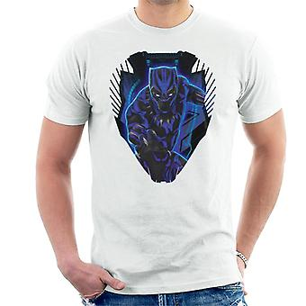 Marvel Black Panther Ship Royal Talon Fighter Silhouette Men's T-Shirt