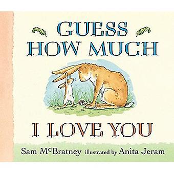 Gissa hur mycket jag älskar dig Lap-storlek styrelse bok