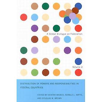 Verteilung der Zuständigkeiten und Verantwortlichkeiten in Bundesländern (globalen Dialog über Föderalismus-Booklet-Serie)