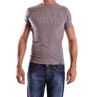 Woolrich Ezbc033021 Miesten's Harmaa Puuvilla T-paita