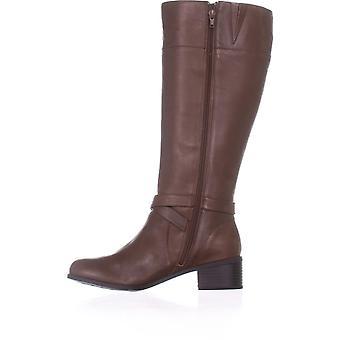 Giani Bernini Womens Reeva Leather Closed Toe Knee High Fashion Boots