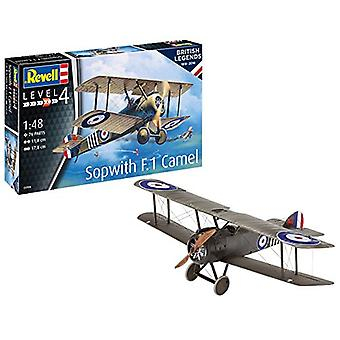 Revell 3906 1:48 Legends British Legends: Sopwith F. 1Camel, muovi malli Kit
