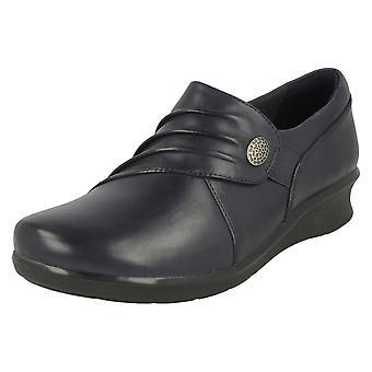 Clarks senhoras Cunha calcanhar sapatos Hope Roxanne