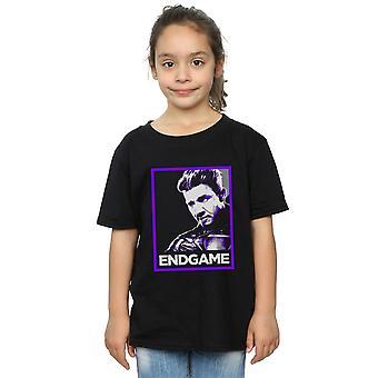 Marvel Avengers dziewczyny Endgame Hawkeye plakat T-Shirt