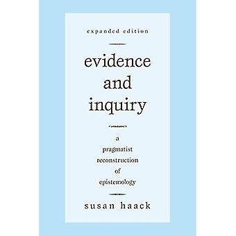 Bevis og forespørsel: en pragmatisk rekonstruksjon av epistemologi