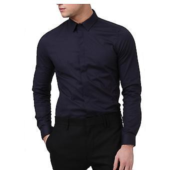 Religion Clothing Legion Long Sleeved Shirt Navy