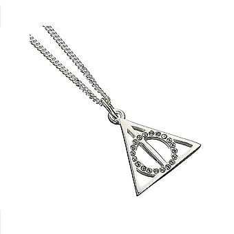 Harry Potter Crystals Deathly Hallows Necklace