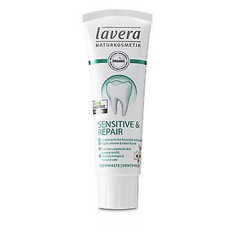 Lavera Zahnpasta (empfindlich & Reparatur) - Mit Bio-Kamille & Natriumfluorid - 75ml/2,5 Unzen