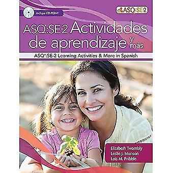 Ages & Stages Questionnaires (R): Social-Emotional (ASQ (R):SE-2): Actividades de Aprendizaje y mas (Spanish)