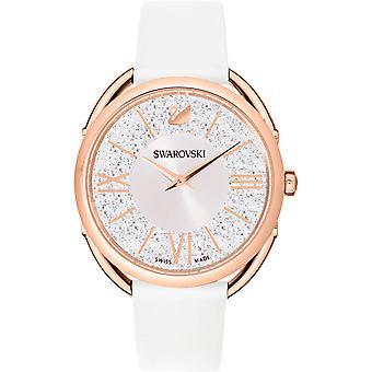 Swarovski cristalline en cuir Glam montre 5452459