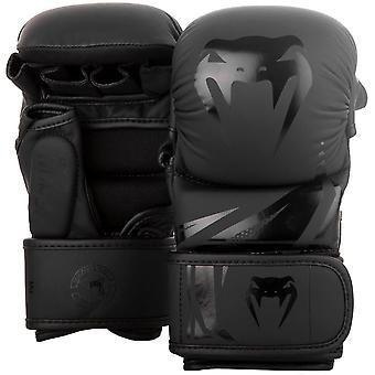 Venum Challenger 3.0 MMA Sparring Gloves Black/Black