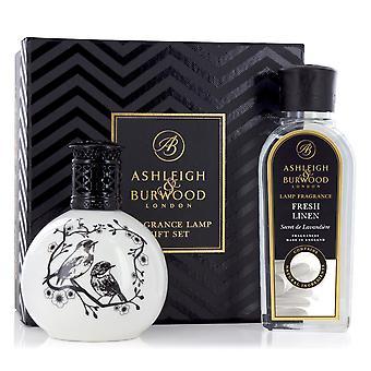 Ashleigh & Burwood Duft Öl Lampe Home Geschenk Set Diffusor zwei kleine Vögel