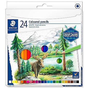 Staedtler design Journey färgade blyertspennor Box av 24
