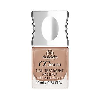 Alessandro Colour And Care Nail Treatment - Mocca CC Polish 10mL