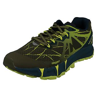 Mens Merrell Lace Up Trainers Agility Peak Flex