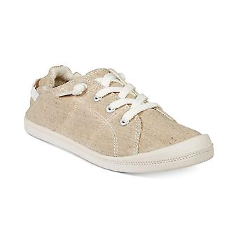 Material Girl Womens Brooke Canvas Low Top Lace Up Fashion Sneakers