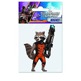 Magnet - Marvel - Guardians Of The Galaxy - Rocket Raccoon New Licensed 68216