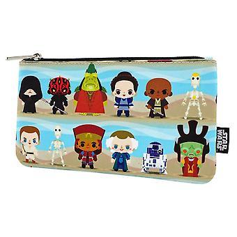 Star Wars Phantom Menace Chibi Pencil Case