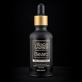 Óleo de manutenção da barba