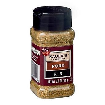 Sauer's Pork Rub 2 Bottle Pack
