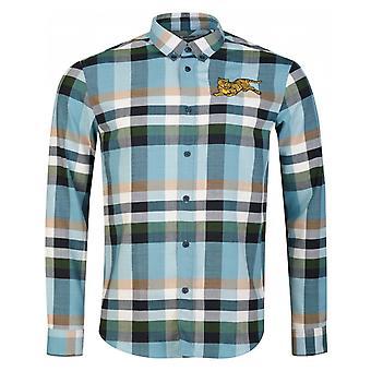 Kenzo Jumping Tiger Check Shirt
