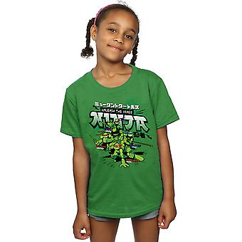 TMNT Mädchen entfesseln das innere Ninja T-Shirt