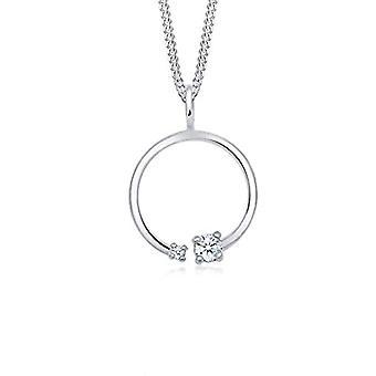 Diamore Silver Women's Pendant Necklace 0110761017_45