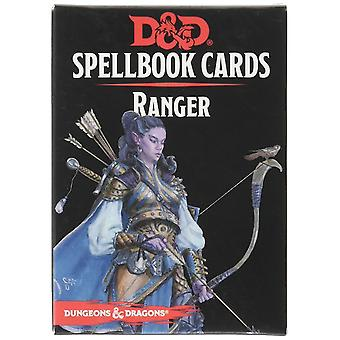 GaleForce Nine 73920 D & D Spellbook Cards Ranger Deck