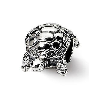 925 Sterling Silber Finish Reflexionen Schildkröte Perle Anhänger Anhänger Halskette Schmuck Geschenke für Frauen