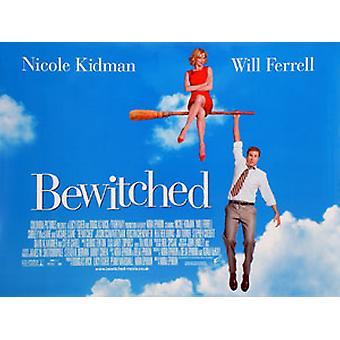 Bewitched alkuperäinen elokuva teatteri juliste