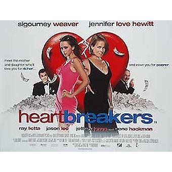 Heartbreakers (kaksipuolinen) alkuperäinen elokuva juliste