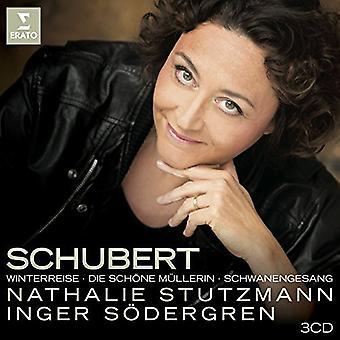 Schubert / Stutzmann - Winterreise Die Schone Mullerin & Schwanengesang [CD] USA import