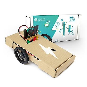 Tech Will Save Us Micro:bot Kit | BBC Microbit Robot Coding Kit, Ages 11 and up
