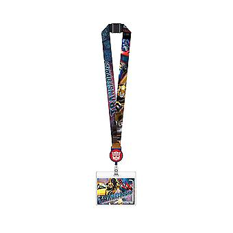 Lanyard - Transformer - w/Zip Lock Card Holder New 72001