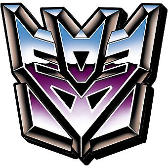 Magnet - Transformers - Decepticons Logo Licensed Gifts Toys 95144