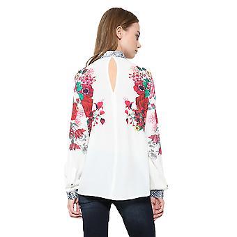 Desigual Women's Floral Berna Shirt