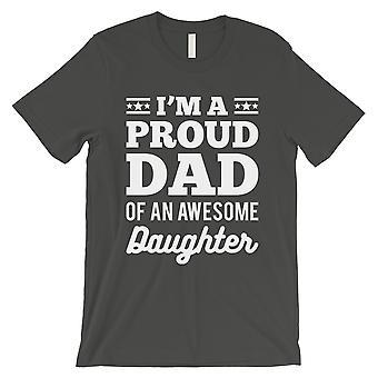 I'm A Proud Dad Mens Cool Grey Inspiratinal Cool Thoughtful Shirt