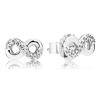 Pandora amour infini boucles d'oreilles - 290695CZ